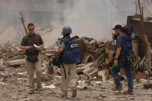 Reporters in War Zone