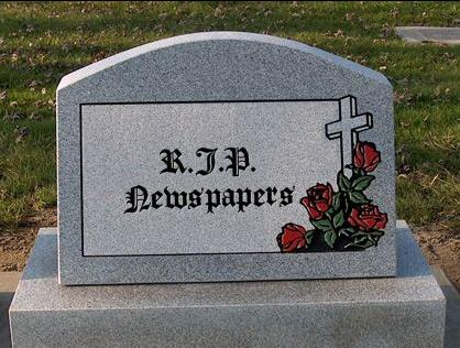 Image result for print media rip